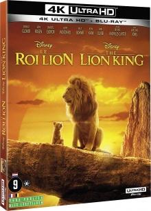 Le Roi Lion (2019) de Jon Favreau - Packshot Blu-ray 4K Ultra HD