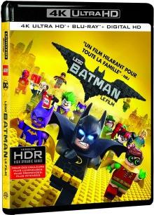 Lego Batman, le film (2017) de Chris McKay - Packshot Blu-ray 4K Ultra HD