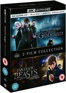 Les Animaux fantastiques + Les Animaux fantastiques : Les Crimes de Grindelwald - Packshot Blu-ray 4K Ultra HD