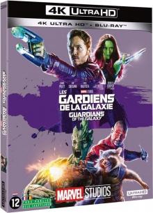 Les Gardiens de la Galaxie (2014) de James Gunn - Packshot Blu-ray 4K Ultra HD
