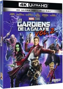 Les Gardiens de la galaxie Vol.2 (2017) de James Gunn - Packshot Blu-ray 4K Ultra HD