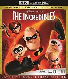 Les Indestructibles (2004) de Brad Bird - Packshot Blu-ray 4K Ultra HD