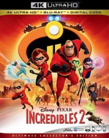 Les Indestructibles 2 (2018) de Brad Bird - Packshot Blu-ray 4K Ultra HD
