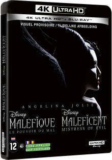 Maléfique : Le Pouvoir du Mal (2019) de Joachim Rønning – Packshot Blu-ray 4K Ultra HD