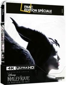 Maléfique : Le Pouvoir du Mal (2019) de Joachim Rønning - Steelbook Édition Spéciale Fnac – Packshot Blu-ray 4K Ultra HD