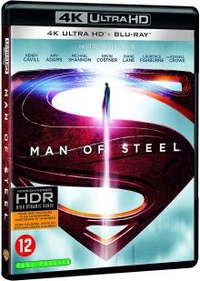 Man of Steel (2013) de Zack Snyder - Packshot Blu-ray 4K Ultra HD