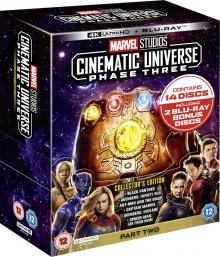 Marvel Studios Cinematic Universe: Phase Three - Part Two - Packshot Blu-ray 4K Ultra HD