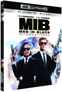 Men in Black : International (2019) de F. Gary Gray - Packshot Blu-ray 4K Ultra HD