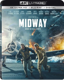 Midway (2019) de Roland Emmerich - Packshot Blu-ray 4K Ultra HD