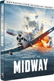 Midway (2019) de Roland Emmerich – Packshot Blu-ray 4K Ultra HD