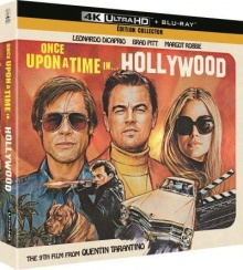 Once Upon a Time... in Hollywood (2019) de Quentin Tarantino - Édition Collector Exclusivité Fnac - Packshot Blu-ray 4K Ultra HD