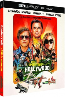 Once Upon a Time... in Hollywood (2019) de Quentin Tarantino - Packshot Blu-ray 4K Ultra HD