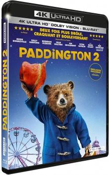 Paddington 2 (2017) de Paul King - Packshot Blu-ray 4K Ultra HD
