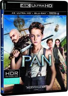 Pan (2015) de Joe Wright - Packshot Blu-ray 4K Ultra HD