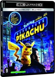 Pokémon - Détective Pikachu (2019) de Rob Letterman - Packshot Blu-ray 4K Ultra HD