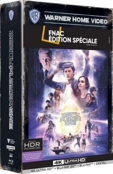 Ready Player One (2018) de Steven Spielberg - Coffret Exclusif Fnac Steelbook - Packshot Blu-ray 4K Ultra HD