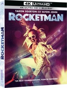 Rocketman (2019) de Dexter Fletcher - Packshot Blu-ray 4K Ultra HD