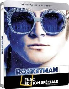 Rocketman (2019) de Dexter Fletcher - Steelbook Édition Spéciale Fnac - Packshot Blu-ray 4K Ultra HD