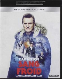 Sang froid (2019) de Hans Petter Moland - Packshot Blu-ray 4K Ultra HD