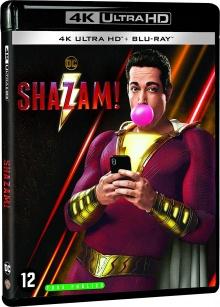 Shazam! (2019) de David F. Sandberg - Packshot Blu-ray 4K Ultra HD