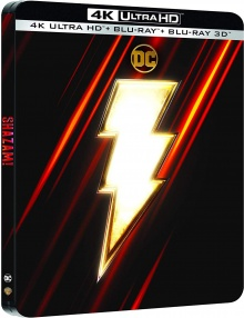 Shazam! (2019) de David F. Sandberg - SteelBook - Packshot Blu-ray 4K Ultra HD