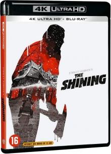 Shining (1980) de Stanley Kubrick - Packshot Blu-ray 4K Ultra HD