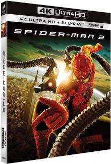 Spider-Man 2 (2004) de Sam Raimi - Packshot Blu-ray 4K Ultra HD