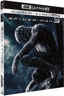 Spider-Man 3 (2007) de Sam Raimi - Packshot Blu-ray 4K Ultra HD