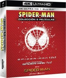 Spider-Man : Coffret 6 Films - Packshot Blu-ray 4K Ultra HD