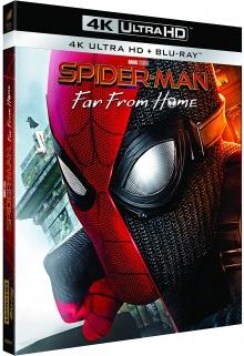 Spider-Man : Far from Home (2019) de Jon Watts - Packshot Blu-ray 4K Ultra HD