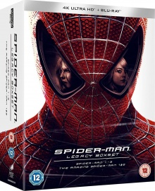 Spider-Man Legacy Collection : Spider-Man 1-3 + The Amazing Spider-Man 1-2 - Packshot Blu-ray 4K Ultra HD