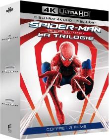 Spider-Man - Origins Collection : La Trilogie - Packshot Blu-ray 4K Ultra HD