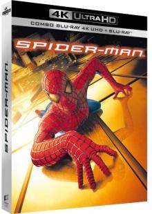 Spider-Man (2002) de Sam Raimi - Packshot Blu-ray 4K Ultra HD