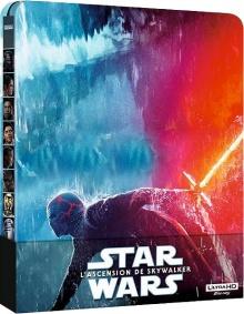 Star Wars, épisode IX – L'Ascension de Skywalker (2019) de J.J. Abrams – Édition SteelBook - Packshot Blu-ray 4K Ultra HD