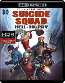 Suicide Squad : Le Prix de l'Enfer (2018) de Sam Liu - Packshot Blu-ray 4K Ultra HD