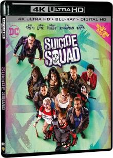 Suicide Squad (2016) de David Ayer - Packshot Blu-ray 4K Ultra HD
