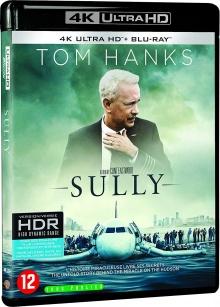 Sully (2016) de Clint Eastwood - Packshot Blu-ray 4K Ultra HD