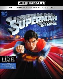 Superman (1978) de Richard Donner - Packshot Blu-ray 4K Ultra HD