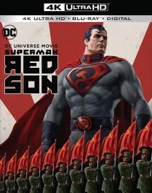 Superman : Red Son (2020) de Sam Liu - Packshot Blu-ray 4K Ultra HD