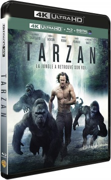 Tarzan (2016) de David Yates - Packshot Blu-ray 4K Ultra HD
