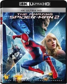 The Amazing Spider-Man 2 : Le destin d'un héros (2014) de Marc Webb - Packshot Blu-ray 4K Ultra HD