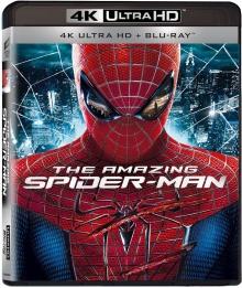The Amazing Spider-Man (2012) de Marc Webb - Packshot Blu-ray 4K Ultra HD