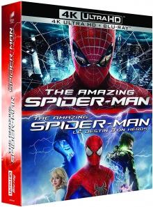 The Amazing Spider-Man + The Amazing Spider-Man 2 : Le destin d'un héros - Packshot Blu-ray 4K Ultra HD