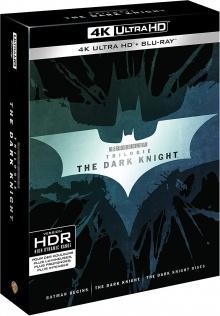 The Dark Knight - Trilogie - Packshot Blu-ray 4K Ultra HD