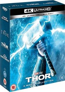 Thor : La Trilogie - Packshot Blu-ray 4K Ultra HD