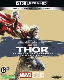 Thor : Le monde des ténèbres (2013) de Alan Taylor - Packshot Blu-ray 4K Ultra HD