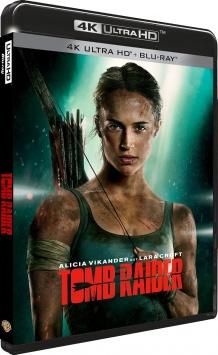 Tomb Raider (2018) de Roar Uthaug - Packshot Blu-ray 4K Ultra HD
