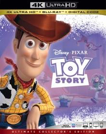 Toy Story (1995) de John Lasseter - Packshot Blu-ray 4K Ultra HD