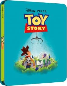 Toy Story (1995) de John Lasseter - Steelbook - Packshot Blu-ray 4K Ultra HD