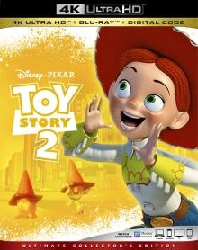 Toy Story 2 (1999) de John Lasseter, Ash Brannon & Lee Unkrich - Packshot Blu-ray 4K Ultra HD